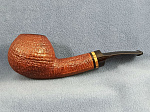 Трубка курительная PS Studio ЮРТК 2014 TAN SANDBLAST BENT BRANDY WITH ZEBRANO (ESTATE)